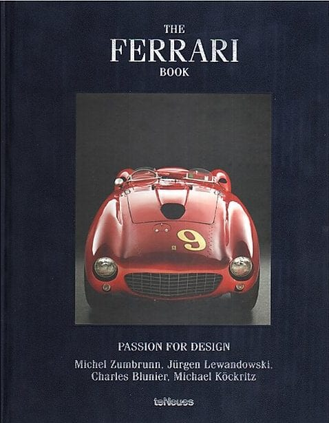 The Ferrari Book Blue New Mags